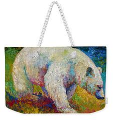 Creamy Vanilla - Kermode Spirit Bear Of Bc Weekender Tote Bag