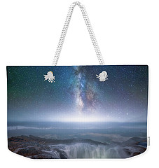 Weekender Tote Bag featuring the photograph Creation by Darren White