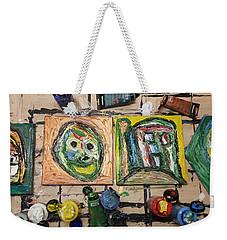 Creative Bench Weekender Tote Bag