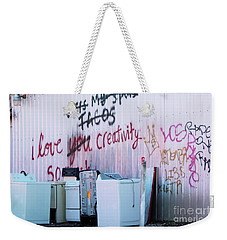Weekender Tote Bag featuring the photograph Creatively Yours by Joe Jake Pratt