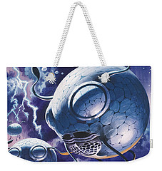 Creatures In Outer Space  Weekender Tote Bag by Wilf Hardy