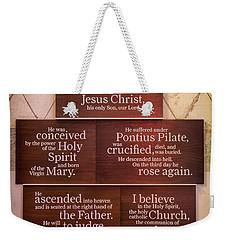Creed Weekender Tote Bag
