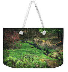 Creek - Spring At Retzer Nature Center Weekender Tote Bag by Jennifer Rondinelli Reilly - Fine Art Photography