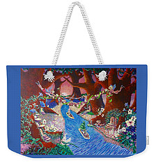 Creekside Fairy Celebration Weekender Tote Bag