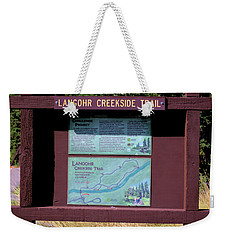 Creekside Trail Weekender Tote Bag