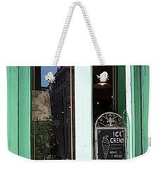 Creme Weekender Tote Bag