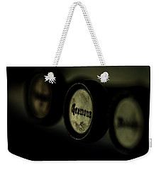 Weekender Tote Bag featuring the photograph Cremona by Jay Stockhaus