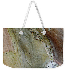 Crepe Myrtle Bark Abstract Weekender Tote Bag