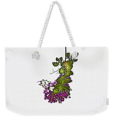 Crepe Myrtle In Oil Weekender Tote Bag