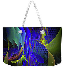 Crescendo Weekender Tote Bag by Sipo Liimatainen