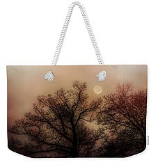Crescent Between The Trees Weekender Tote Bag