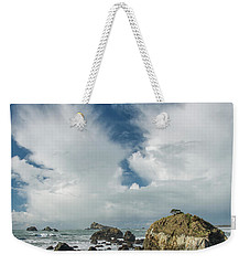 Crescent City Coast And Clouds Weekender Tote Bag