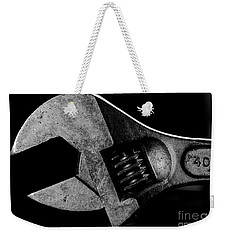 Weekender Tote Bag featuring the photograph Adjustable by Douglas Stucky