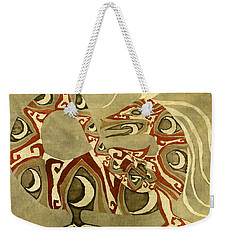 Crescent Dragon Weekender Tote Bag