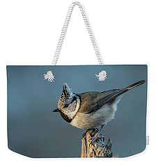 Weekender Tote Bag featuring the photograph Crest by Torbjorn Swenelius