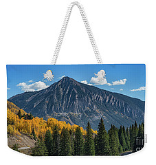 Crested Butte Mountain Weekender Tote Bag