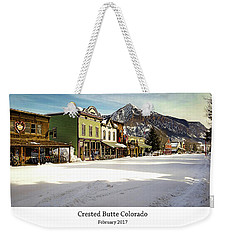 Crested Butte Weekender Tote Bag