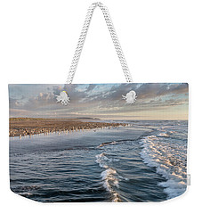 Weekender Tote Bag featuring the photograph Crests And Birds by Greg Nyquist