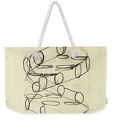 Cricks Original Dna Sketch Weekender Tote Bag