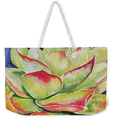 Crimison Queen Weekender Tote Bag by Mary Haley-Rocks