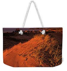 Crimson Dunes Weekender Tote Bag