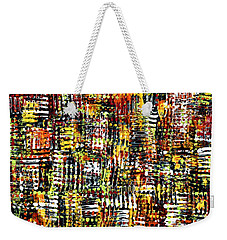 Cris Cross  Weekender Tote Bag
