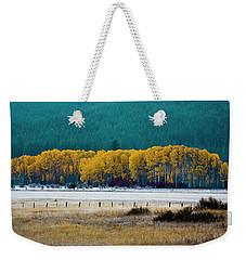 Crisp Aspen Morning Weekender Tote Bag