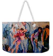 Crisis, What Crisis ? Weekender Tote Bag