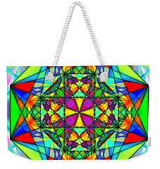 Cristal Logic Weekender Tote Bag