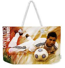Cristiano Ronaldo 092f Weekender Tote Bag by Gull G