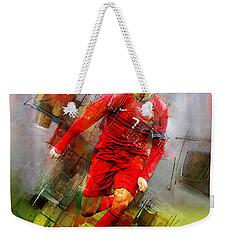Cristiano Ronaldo  Weekender Tote Bag by Gull G