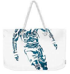 Cristiano Ronaldo Real Madrid Pixel Art 1 Weekender Tote Bag