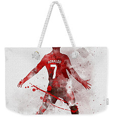 Cristiano Ronaldo United Weekender Tote Bag