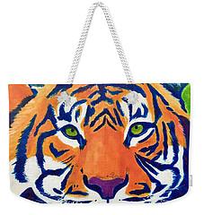 Critically Endangered Sumatran Tiger Weekender Tote Bag