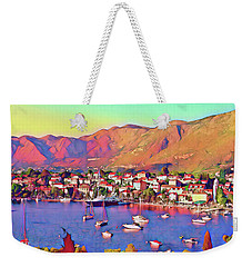 Croatia Coastal Living Weekender Tote Bag