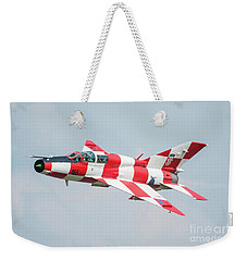 Croatian Air Force Mig-21ub Weekender Tote Bag