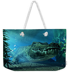 Crocodile Weekender Tote Bag