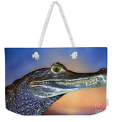Crocodile Smile Weekender Tote Bag