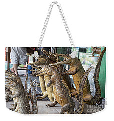 Crocodiles Rock  Weekender Tote Bag by Chuck Kuhn