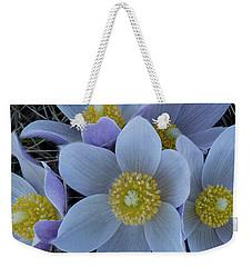 Crocus Blossoms Weekender Tote Bag