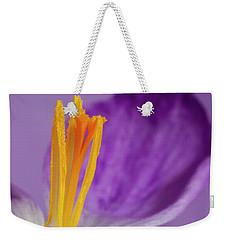 Crocus Stamens  Weekender Tote Bag