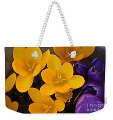 Crocus Tommasinianus Weekender Tote Bag