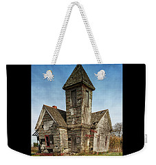 Crooked Church Weekender Tote Bag