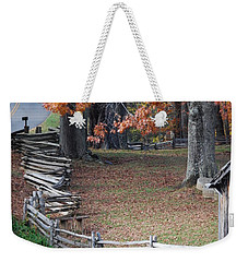 Crooked Fence Weekender Tote Bag
