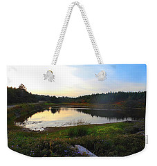 Crooked Lake Road Weekender Tote Bag by Jason Lees