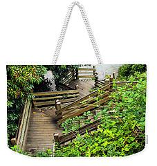 Crooked Stairs Weekender Tote Bag
