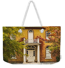 Crooked White Fence Weekender Tote Bag