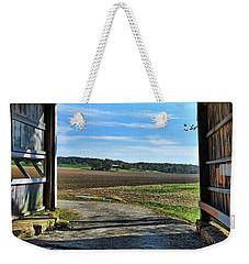Crooks Covered Bridge 2 Weekender Tote Bag by Joanne Coyle