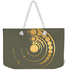 Crop Circle Formation Near Avebury  Weekender Tote Bag