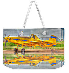 Crop Duster 002 Weekender Tote Bag